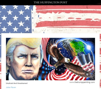 trump-portrait-unafraid-and-unashamed-by-julian-raven-in-the-huffington-post